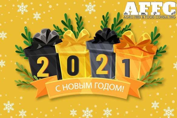 Дорогие друзья, поздравляем вас с Новым, 2021-ым годом!